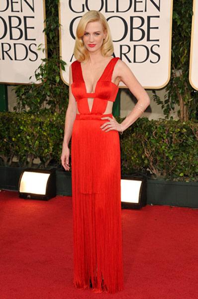Angelina Golden Globes Green Dress. Golden globes fashion: Golden