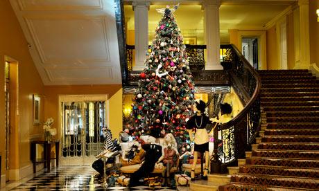 The Lanvin Christmas tree at Claridges
