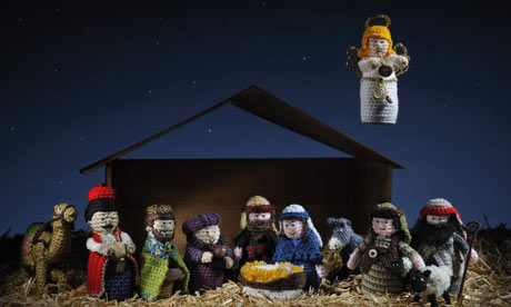 Free Crochet Patterns Nativity Scene : How to crochet a Christmas angel Life and style The ...