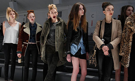 New York fashion week: Some 'Runway stars' before a show