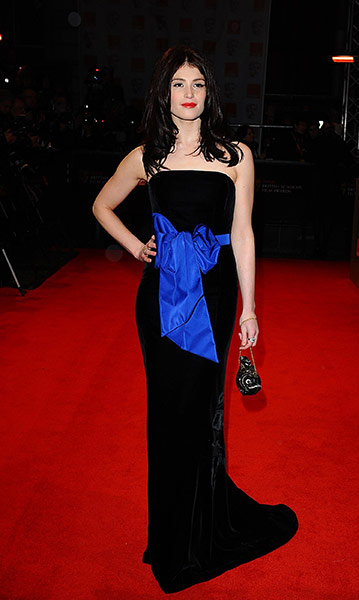 Baftas 2011: fashion: Gemma Arterton at the Baftas