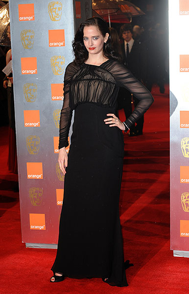 Baftas 2011: fashion: Eva Green at the Baftas