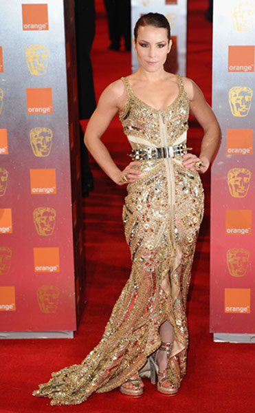 Baftas 2011: fashion: Noomi Rapace at the Baftas