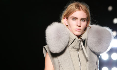 New York fashion week: Alexander Wang show