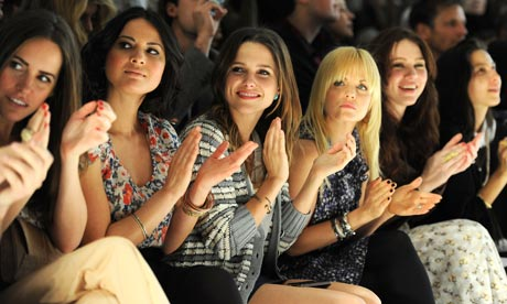 New York fashion week: A star-studded front row at Charlotte Ronson