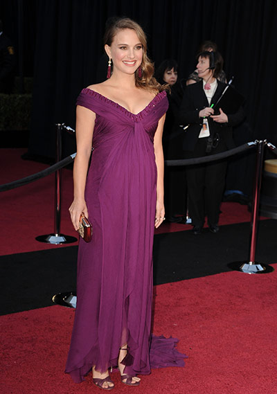 Oscars: Natlie Portman at the Oscars