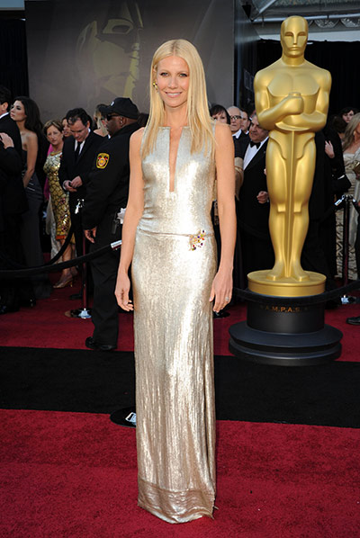 Oscars: Gwyneth Paltrow at the Oscars