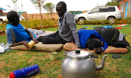 Running with the Kenyans: the elite training camp in Iten
