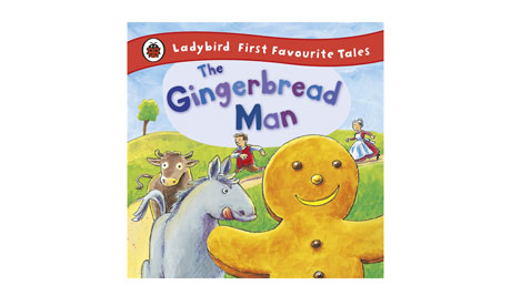 The Gingerbread Man from Ladybird books