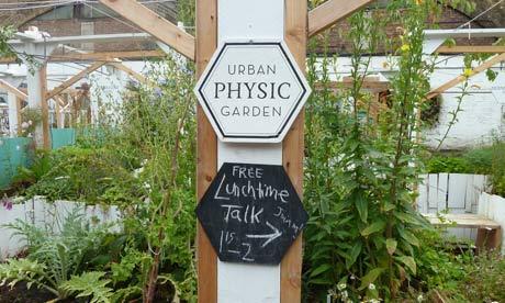 The Urban Physic Garden in Southwark, London