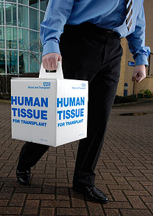 Human tissue donation