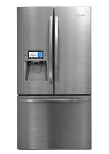 The LG Smart Manager fridge