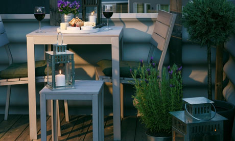 Flaster outdoor furniture from Ikea