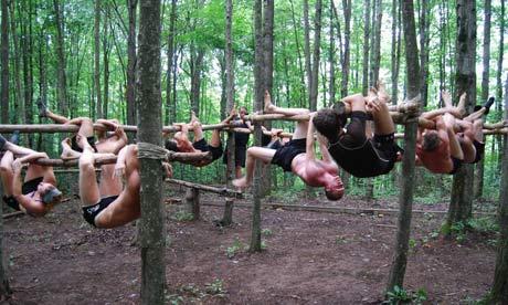 A MovNat fitness class