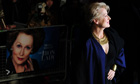 Meryl Streep at the premiere of The Iron Lady in London