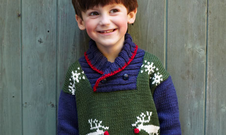 Knitting pattern: reindeer jumper Life and style The Guardian