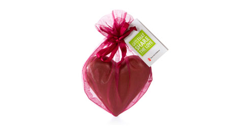 Save the Children chocolate heart