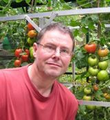 John Walker, author of How to Create an Eco garden