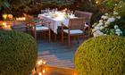 Germany, Baden-Wьrttemberg, Stuttgart, Elegant table set on terrace.