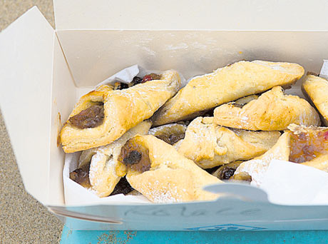 Kolace – homemade sweet pastry from Czech Republic