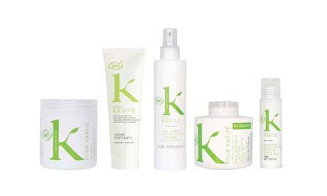 K Pour Karité organic hair care