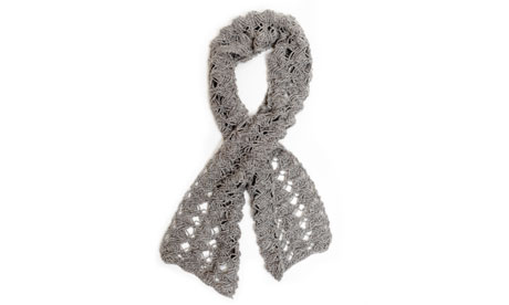 Knitting pattern: twisted scarf Life and style The Guardian