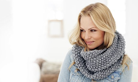 Free Knitting Patterns For Snoods : Easy knit snood for Wool Week Life and style The Guardian