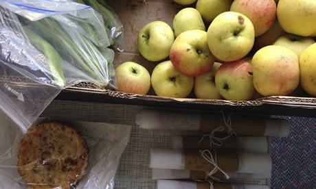 Food swap in Altrincham