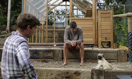 Catharine Howard's new greenhouse