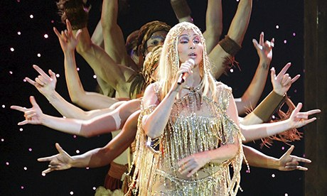Cher on stagein Germany in 2004