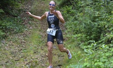 Running fast is the best feeling in the world :    Jacqui Slack, Xterra England champion and Windsor triathlon winner