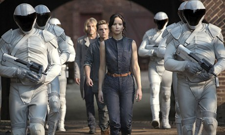 Katniss Everdeen in The Hunger Games: Catching Fire