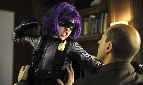 Chloe Moretz as Hit-Girl in Kick-Ass