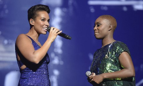 Alicia Keys and Laura Mvula