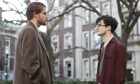 Michael C Hall and Daniel Radcliffe in Kill Your Darlings