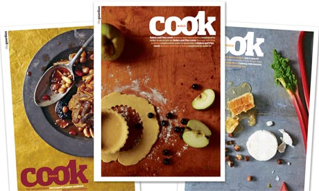 Cook the guardians new weekly food section eyeslikeplates cook issue six packshot promotion photograph guardian forumfinder Images