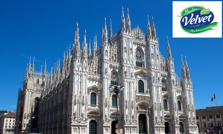Milan Cathedral for Velvet competition