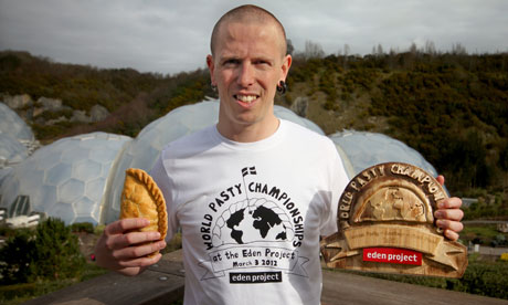 Billy Deakin, pasty maker extraordinaire