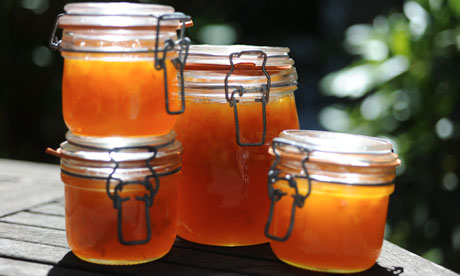 Gertie's dried apricot jam