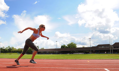 Paralympic Sprinter Sophia Warner