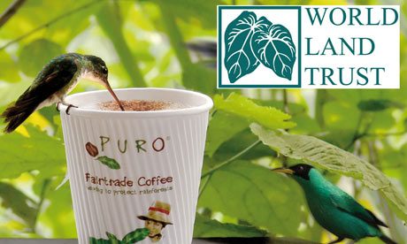 Puro Coffee and the World Land Trust