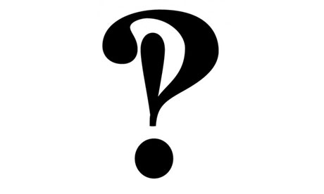Sign of the times … the interrobang