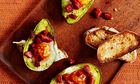 10 best Avocado baked with an egg and chorizo