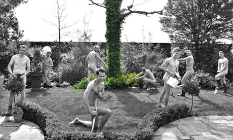The Grubby Gardeners at the Roof Gardens Kensington