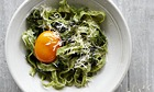 10 best Tagliarini with nettles, nutmeg and parmesan
