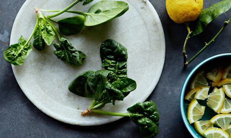 10 best Spinach and lemon salad