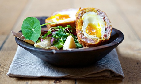 Scotch egg from the British Larder