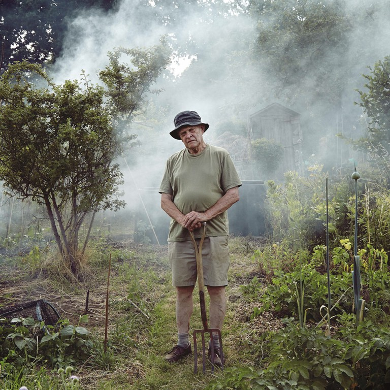 Alexandra Palace Allotment Portraits by Gary Morrisroe