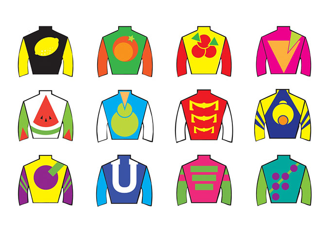 Reinventing racing silks - in pictures