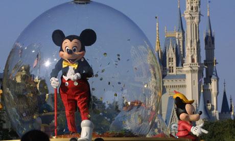 Mickey Mouse at Disneyland Florida